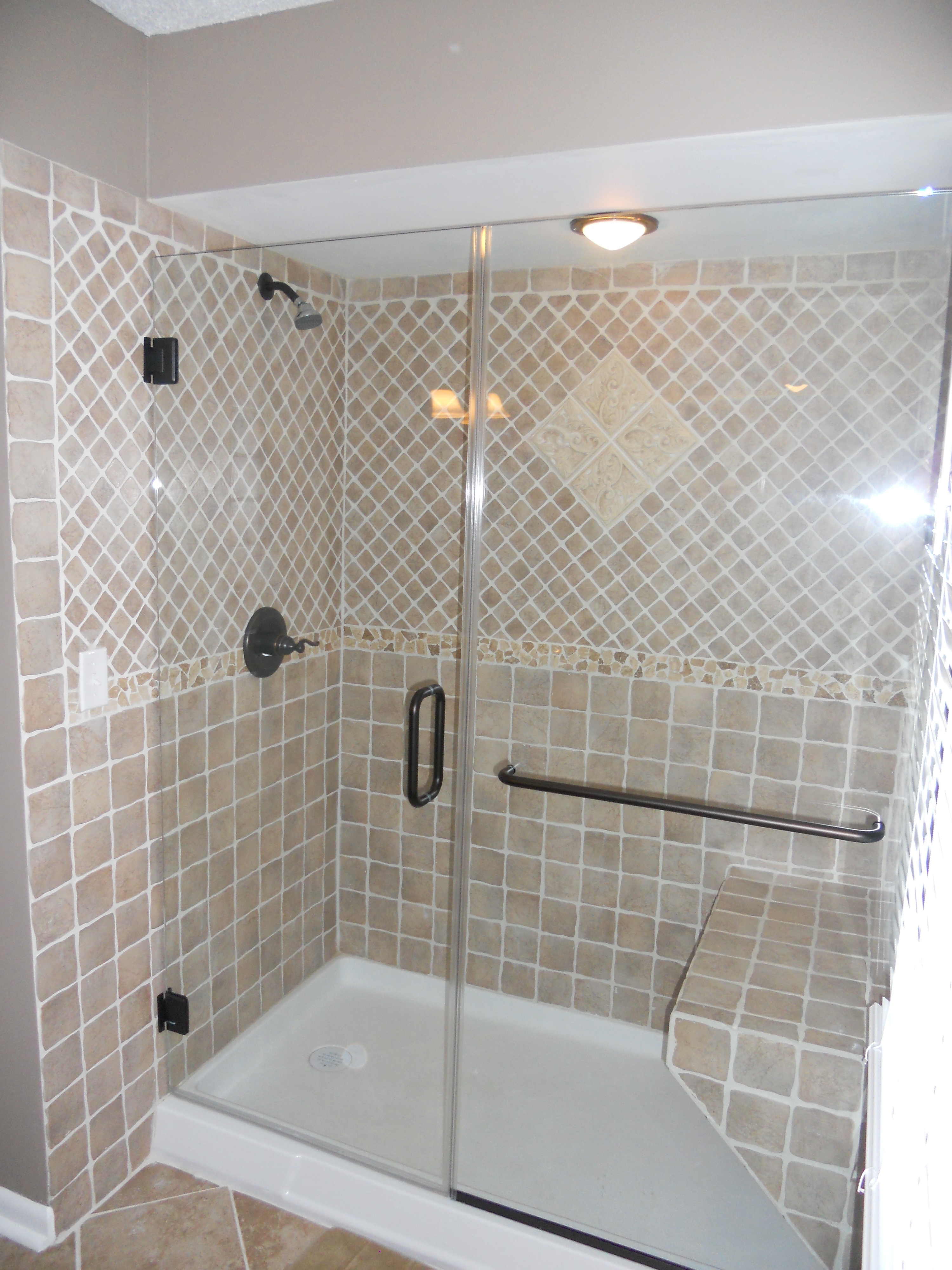 Residential Glass Shower Enclosures Gallery